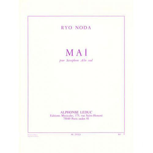 LEDUC NODA R. - MAI - SAXOPHONE ALTO SOLO