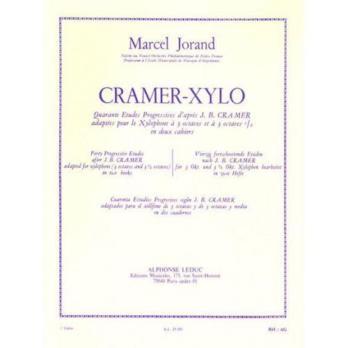 LEDUC JORAND M. - 40 ETUDES D'APRES CRAMER VOL. 1 - XYLOPHONE