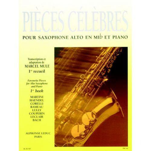 LEDUC MULE (ED.) - PIECES CELEBRES VOL. 1 - SAXOPHONE ALTO ET PIANO