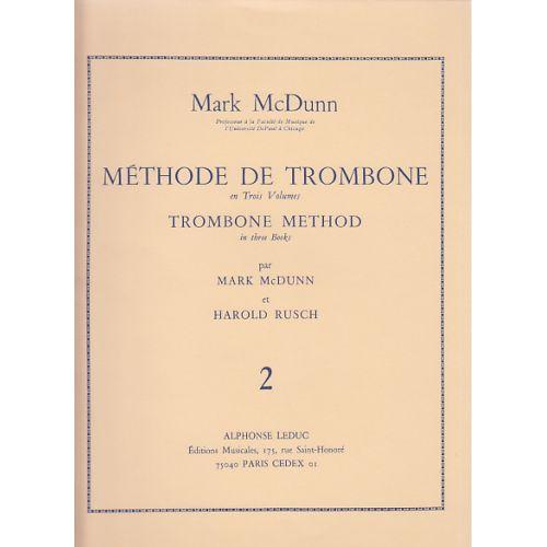 LEDUC MAC DUNN MARK - METHODE DE TROMBONE VOL.2