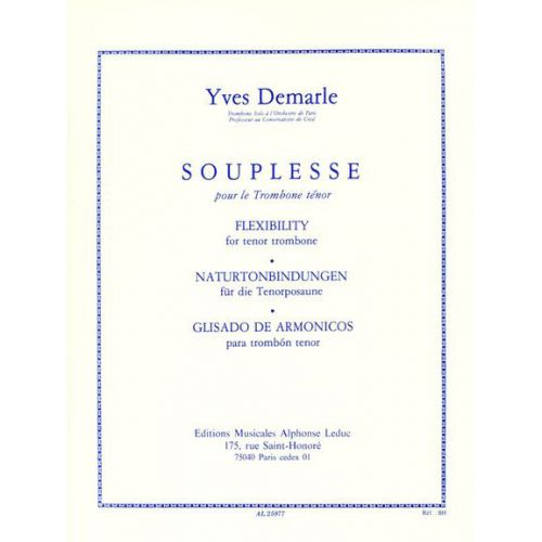 LEDUC DEMARLE Y. - SOUPLESSE - TROMBONE
