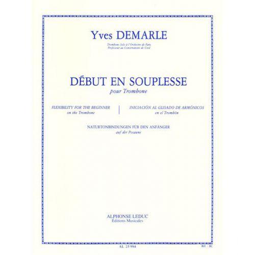LEDUC DEMARLE - DEBUT EN SOUPLESSE - TROMBONE