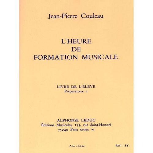 LEDUC COULEAU JEAN-PIERRE - L'HEURE DE FORMATION MUSICALE P2 (ELEVE)