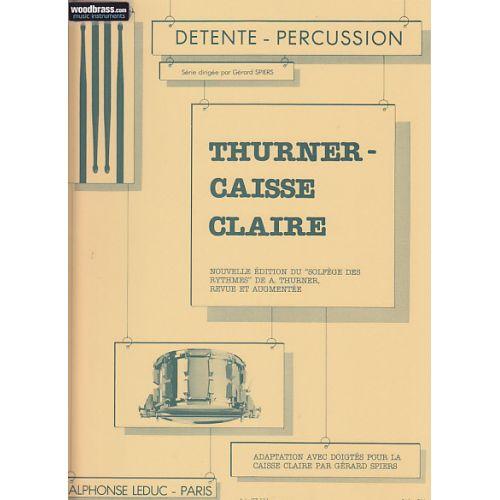 LEDUC SPIERS / THURNER - ADAPTATION AVEC DOIGTES POUR CAISSE-CLAIRE DU SOLFEGE DES RYTHMES DE THURNER