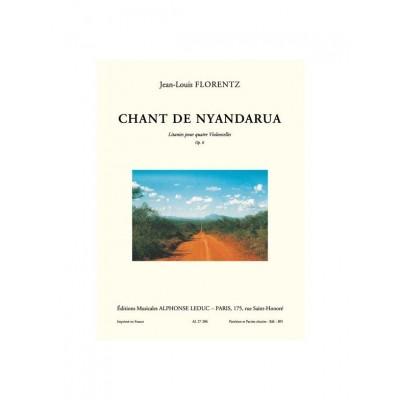 LEDUC FLORENTZ J.L.- CHANT DE NYANDARUA - LITANIES - 4 VIOLONCELLES