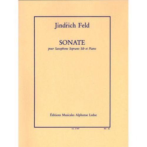 LEDUC FELD JINDRICH - SONATE - SAXOPHONE SIb & PIANO
