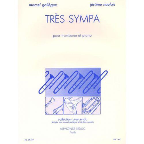 LEDUC GALIEGUE/NAULAIS - TRES SYMPA - TROMBONE ET PIANO