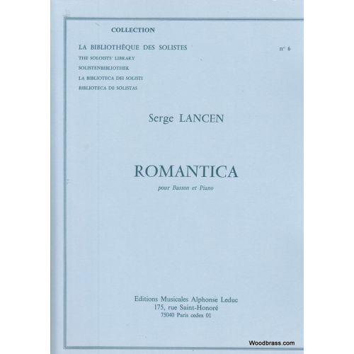 LEDUC LANCEN S. - ROMANTICA - BASSON ET PIANO