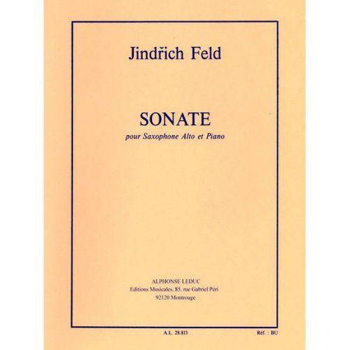 LEDUC FELD JINDRICH - SONATE - SAXOPHONE MIb & PIANO