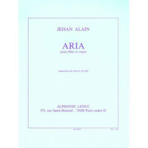 LEDUC ALAIN JEHAN - ARIA - FLûTE / ORGUE