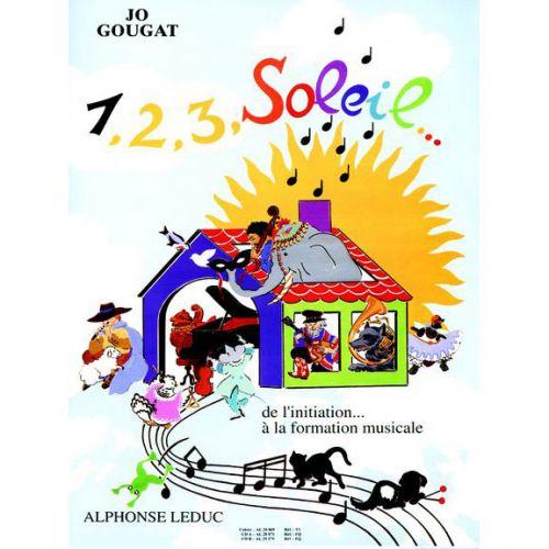 LEDUC JO GOUGAT - 1, 2, 3, SOLEIL VOL.1 (+CD)