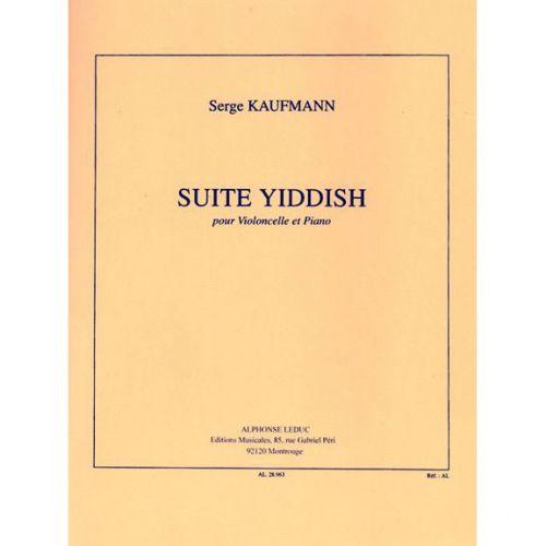 LEDUC KAUFMANN SERGE - SUITE YIDDISH - VIOLONCELLE & PIANO