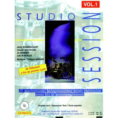 LEDUC STUDIO SESSION + CD