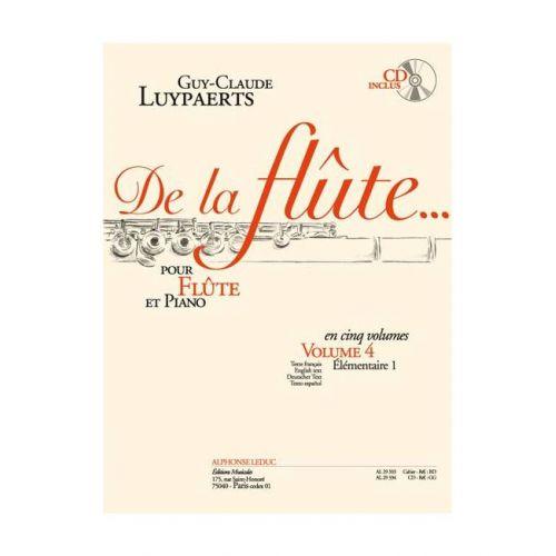 LEDUC LUYPAERTS - DE LA FLUTE VOL.4 + CD