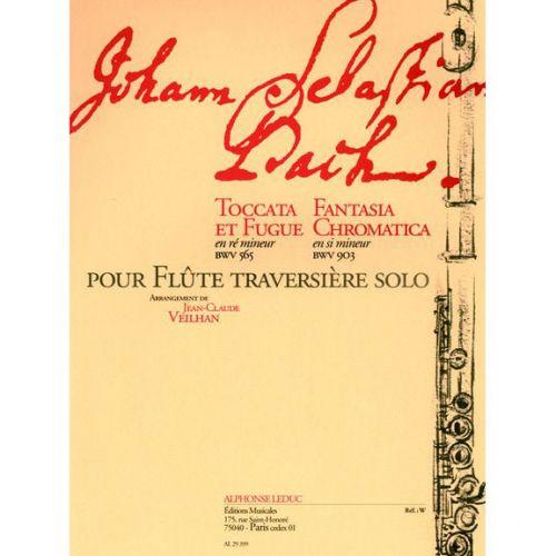LEDUC BACH J.S. TOCCATA ET FUGUE EN Ré M BWV 565, FANTASIA CHROMATICA EN SI M BWV 903