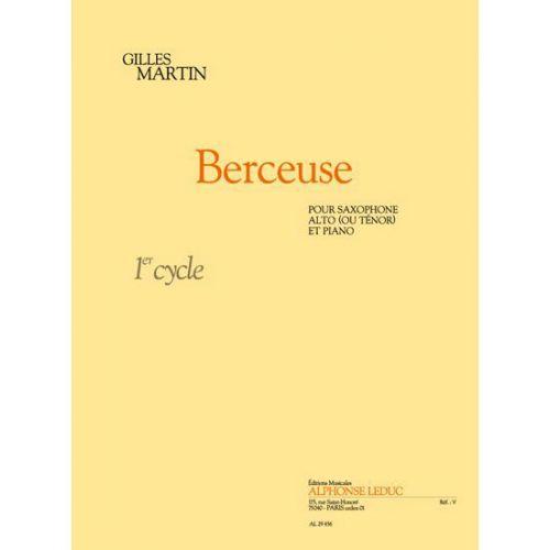 LEDUC MARTIN GILLES - BERCEUSE - SAXOPHONE & PIANO