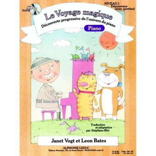 LEDUC VOGT/BATES/BLET - LE VOYAGE MAGIQUE - DECOUVREUR NIVEAU 1 (AVEC PORTEES) + CD