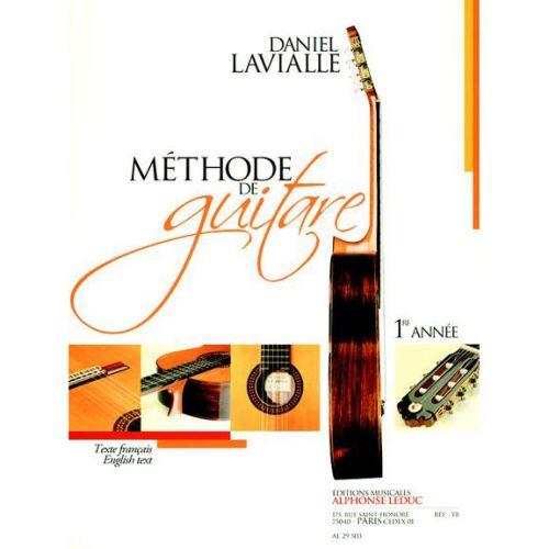 LEDUC LAVIALLE DANIEL - MÉTHODE DE GUITARE 1ERE ANNÉE