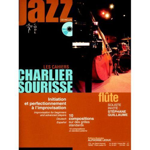 LEDUC LES CAHIERS CHARLIER-SOURISSE POUR FLÛTE + CD