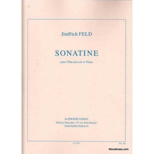 LEDUC FELD J. - SONATINE POUR FLUTE PICCOLO ET PIANO