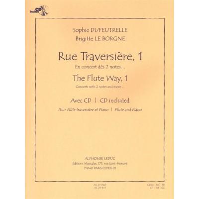 LEDUC DUFEUTRELLE S. & LEBORGNE B. - RUE TRAVERSIERE 1 + CD