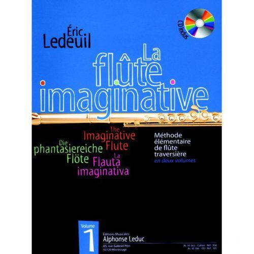 LEDUC LEDEUIL ERIC - FLUTE IMAGINATIVE VOL.1 + CD