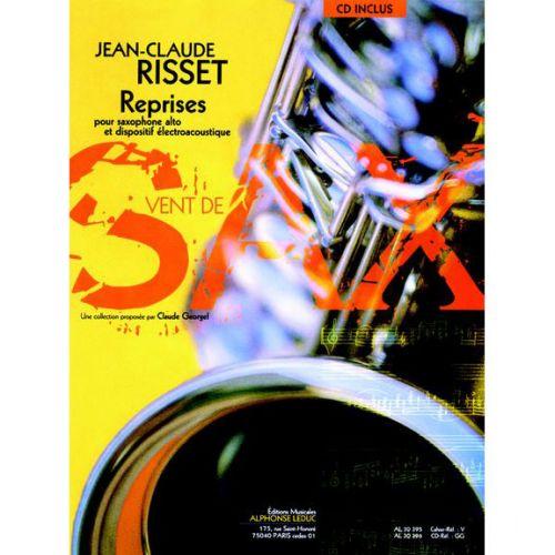 LEDUC RISSET J.C. - REPRISES - SAXOPHONE ALTO ET DISPOSITIF ÉLECTROACOUSTIQUE + CD