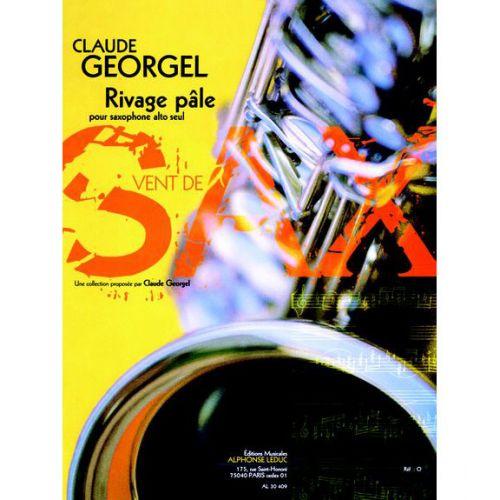 LEDUC GEORGEL C. - RIVAGE PÂLE - SAXOPHONE ALTO SEUL
