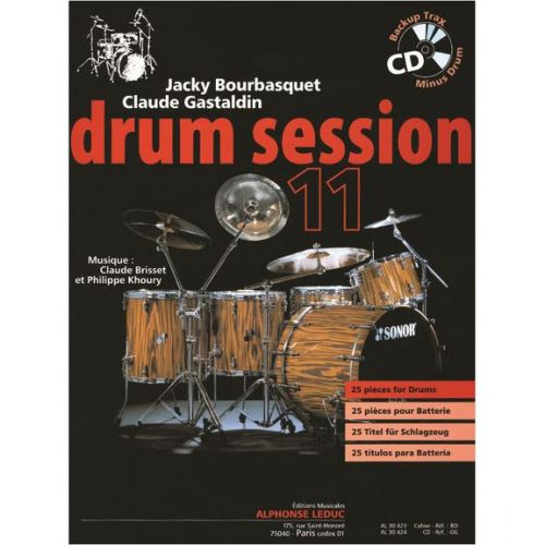 LEDUC BOURBASQUET/GASTALDIN - DRUM SESSION VOL.11 + CD