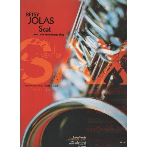 LEDUC JOLAS BETSY - SCAT POUR 2 SAXOPHONES ALTOS