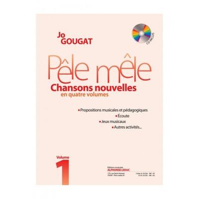 LEDUC GOUGAT JO - PELE MELE VOL.1 + CD