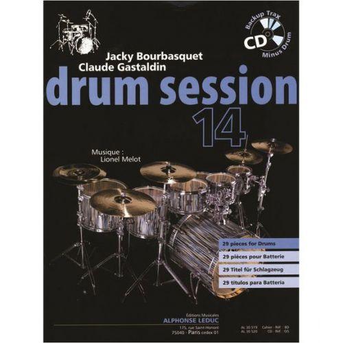 LEDUC BOURBASQUET/GASTALDIN/MELOT - DRUM SESSION VOL.14 + CD