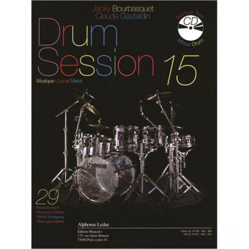 LEDUC BOURBASQUET/GASTALDIN - DRUM SESSION VOL.15 + CD