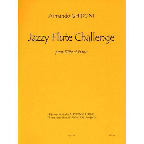 LEDUC GHIDONI ARMANDO - JAZZY FLUTE CHALLENGE - FLUTE & PIANO