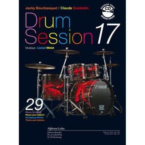 LEDUC BOURBASQUET/GASTALDIN - DRUM SESSION VOL.17 + CD