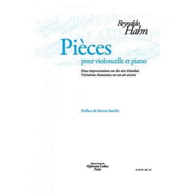 LEDUC HAHN REYNALDO - PIECES POUR VIOLONCELLE & PIANO
