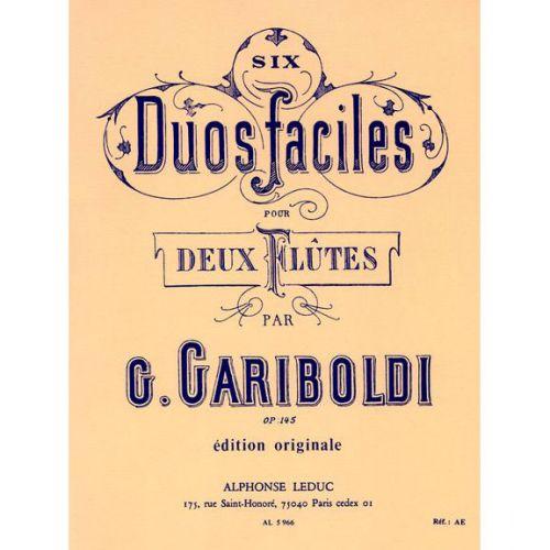 LEDUC GARIBOLDI - 6 DUOS GRADUES POUR FLUTES