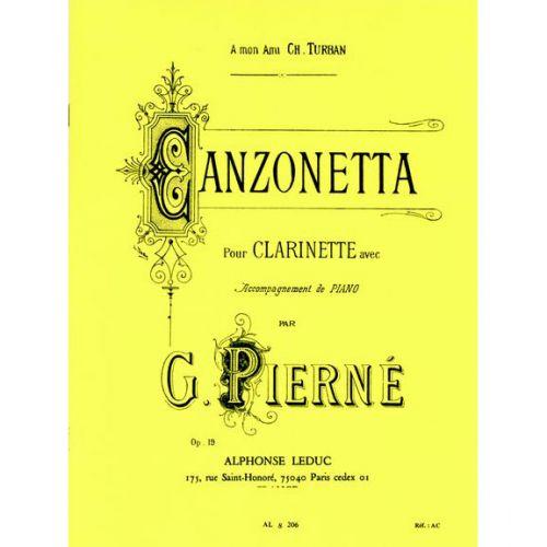 LEDUC PIERNE G. - CANZONETTA - CLARINETTE