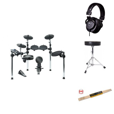 ALESIS COMMAND KIT BUNDLE - COMPLETE MESH AND RUBBER PAD