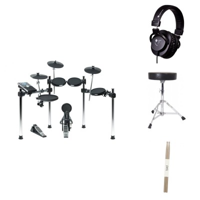 ALESIS FORGE KIT BUNDLE - COMPLETE RUBBER PAD