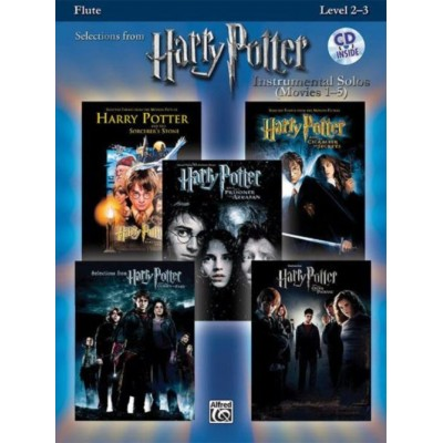 ALFRED PUBLISHING HARRY POTTER SOLOS + CD - FLUTE SOLO