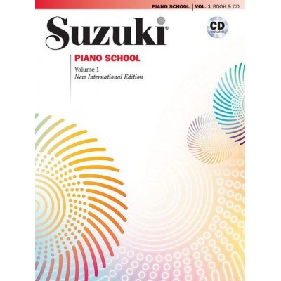 ALFRED PUBLISHING SUZUKI PIANO SCHOOL VOL.1 NEW EDITION CD