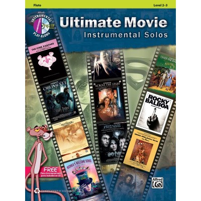 ALFRED PUBLISHING ULTIMATE MOVIE INSTRUMENTAL SOLOS - FLÛTE + CD