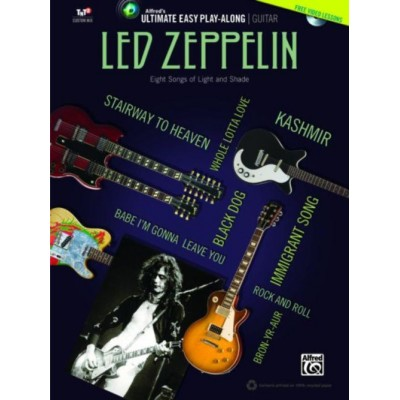 ALFRED PUBLISHING LED ZEPPELIN - ULTIMATE EASY GUITAR PLAY-ALONG + DVD