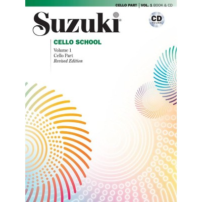 ALFRED PUBLISHING METHODE - SUZUKI CELLO SCHOOL CELLO PART & CD VOL.1 (REVISED)