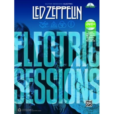 ALFRED PUBLISHING LED ZEPPELIN - ELECTRIC SESSIONS + DVD