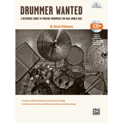 ALFRED PUBLISHING MULLOWNEY D. - DRUMMER WANTED + CD