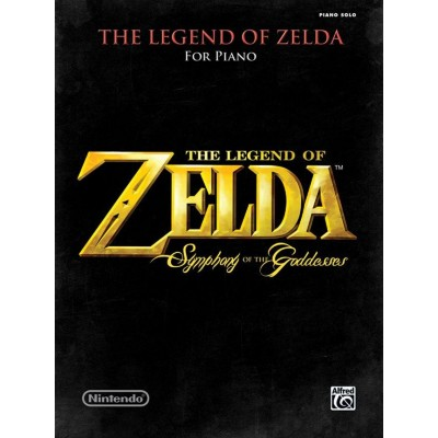 ALFRED PUBLISHING THE LEGEND OF ZELDA SYMPHONY OF GODDESSES - PIANO
