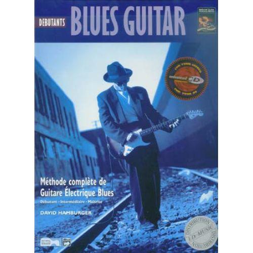 ALFRED PUBLISHING BLUES GUITARE DEBUTANT TAB + CD - DAVID HAMBURGER