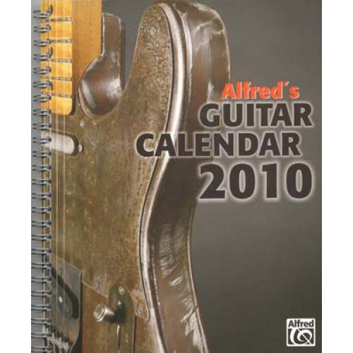 ALFRED PUBLISHING ALFRED'S GUITAR CALENDAR 2010